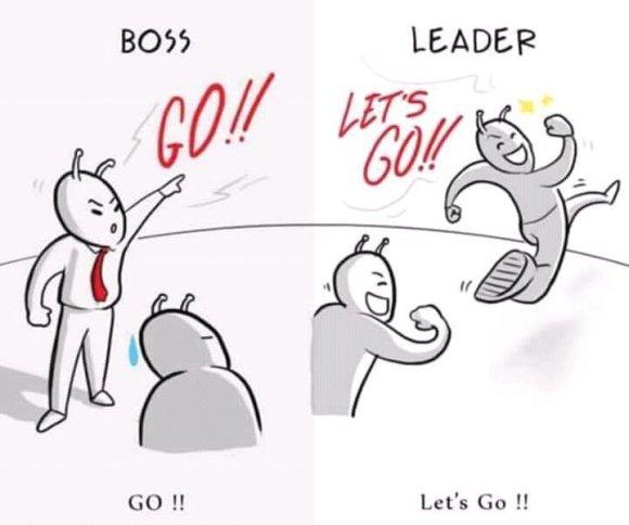 Boss Vs Leader (Images)